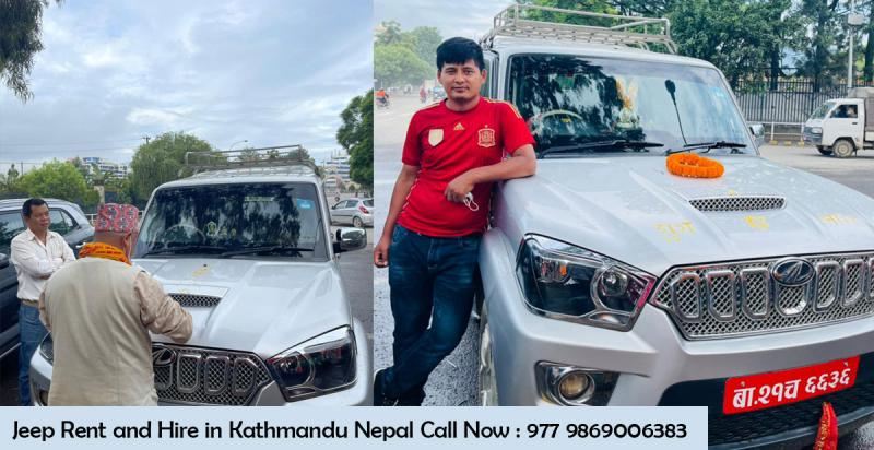 Jeep Hire and Rent in Kathmandu Nepal : Scorpio Jeep Rental in Nepal with cheap price